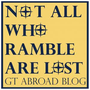 "Web Icon for the ""Not All Who Ramble Are Lost"" Blog for International Opportunities"