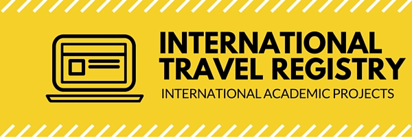 International Travel Registry